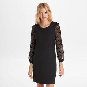 Karl Lagerfeld Long Sleeve Sheath Dress